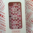 Coach Peyton Signature Heart Iphone 5 Case. Style 64553, Multicolor