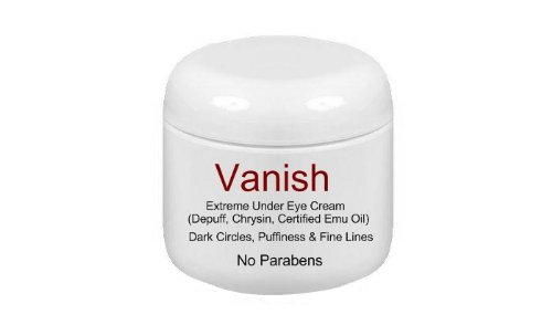Vanish Extreme Under Eye Cream for Dark Circles and Puffiness / 1/2oz - 1 Month Supply -Watts Beauty