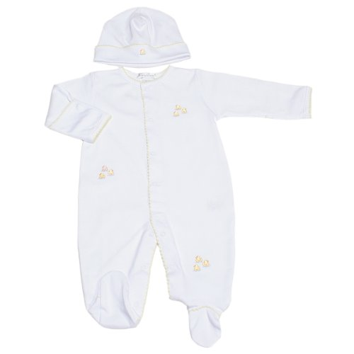 Kissy Kissy - Rubber Ducky Footie And Hat Set-0-3Mos