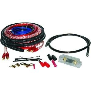 Soundquest Product-Soundquest Sqk4Anl Soundquest Copper-Clad Aluminum Amplifier Wiring Kit (4 Gauge)