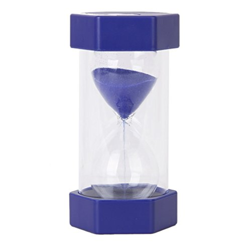 Security Safety Fashion Hourglass Sand Timer Teacher Created Resources and Children Brush Their Teeth Kitchen Countdown (5 minutes, Blue) (Hourglass Timers compare prices)