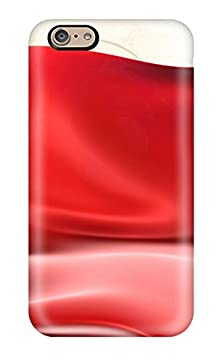 buy Iphone 6 Case, Premium Protective Case With Awesome Look - Abstract Red