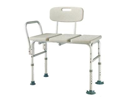 Heavy-Duty-Bariatric-Aluminum-Frame-Bathtub-Transfer-BenchBath-Chair-with-Back-Wide-Seat-Adjustable-Legs-Suction-Cups-Shower-Bench-450-lbs-Weight-Limit