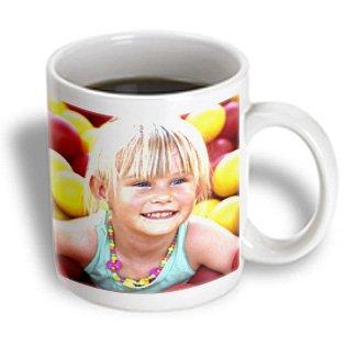 Danita Delimont - Children - Portrait Of Young Girl At Mcdonalds Playground - Li07 Bba0044 - Bill Bachmann - 15Oz Mug (Mug_83220_2)