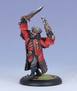 Privateer Press Khador - Kovnik Jozef Grigorovich Model Kit
