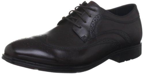 Rockport Men's Fairwood 2 Wingtip Dark Brown Shoe K73872 11 UK