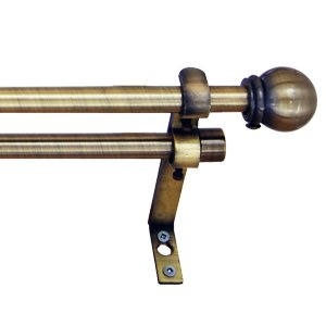 Amazon.com: brass curtain rod