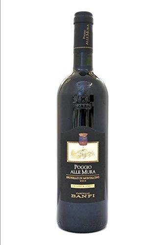 Brunello di Montalcino DOCG Riserva 2007 Poggio alle Mura Lt0,75 Vini di Toscana