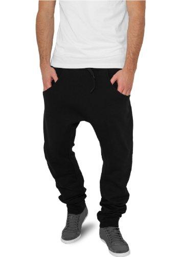 """Urban Classics pantaloni da jogging """"deep forcella in felpa"""", taglia: XL, colore: Nero"""
