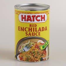 Hatch Mild Red Enchilada Sauce 15oz Cans (Pack of 6)