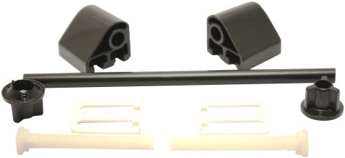 Plumb-Pak Toilet Seat Hinge - Black