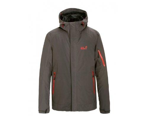 JACK WOLFSKIN Affinity Men's Jacket, Grey, S