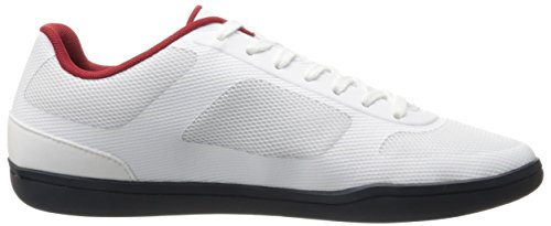 Lacoste Men's Court-Minimal Oly 316 1 Spm Fashion Sneaker, White, 10.5 M US