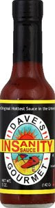 Dave's Insanity Sauce, 5 Oz (Pack of 12) (Serrano Salsa By Salsa Crazy compare prices)