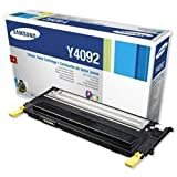 Brand New. Samsung Laser Toner Cartridge Page Life 1000pp Yellow [for CLP310/315 series] Ref CLT-Y4092S/ELS