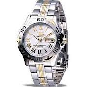 Seiko Automatic 23-jewels Two-tone Stainless Steel SNZG02K1
