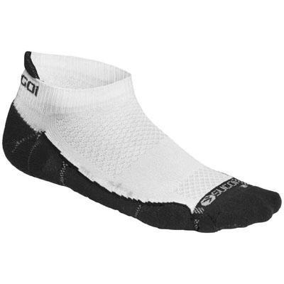 Sugoi Sugoi Men's RSR Ped Sock, Black/White, Large