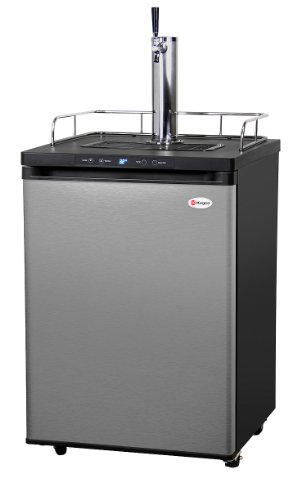 Great Deal! Kegco K309SS-1 Full Size Digital Kegerator - Black