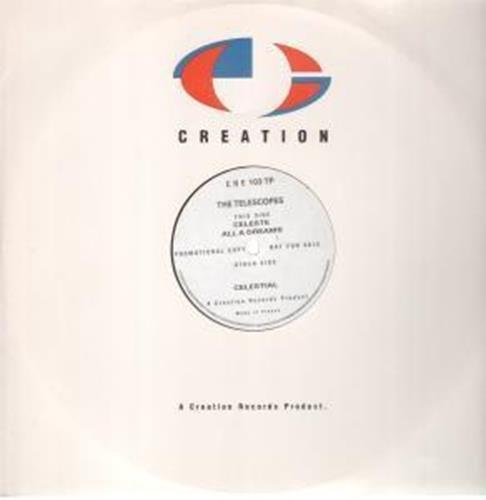 "Celeste 12 Inch (12"" Vinyl Single) Uk Issue Pressed In France Creation 1991"
