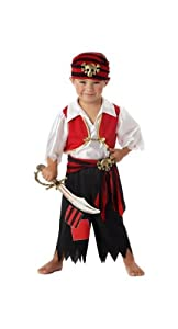 Ahoy Matey! Pirate Toddler Costume - Toddler (2T-4T)