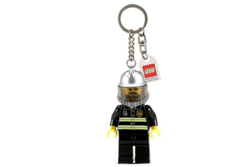 Lego City Fire Fighter Keychain - 1