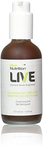 Skin Nutrition Live Cleansing Gel Smoothie, 4.2 Ounce