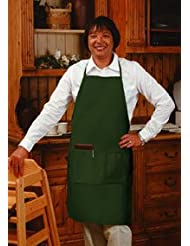 Aprons Bib Butcher Pocket Medium Green NEW 34x23 Lot 12 by ERB