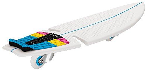 Razor Ripsurf- Cmyk Skateboard 2 Wheels, Bianco, 81.79 X 27.18 X 15.24
