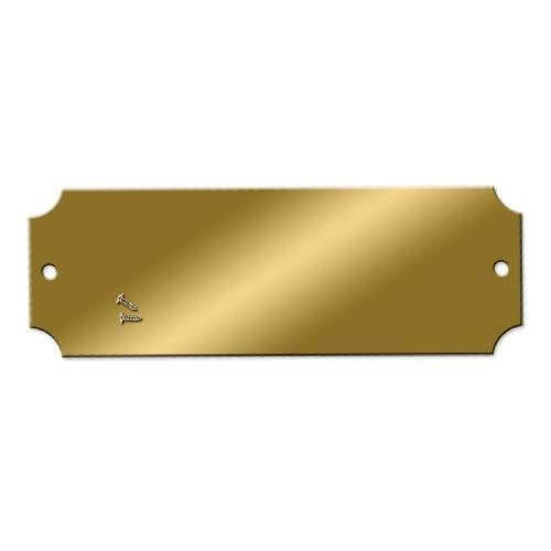 Amazoncom Blank Engraving Brass Plate Pack of 25