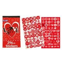 Valentines / Love / Hearts Stickers (296 Count)