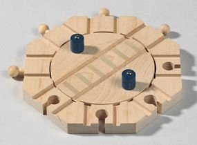 Spur/Socket Turntable, by HABA - Buy Spur/Socket Turntable, by HABA - Purchase Spur/Socket Turntable, by HABA (Haba, Toys & Games,Categories,Play Vehicles,Trains & Railway Sets,Accessories)