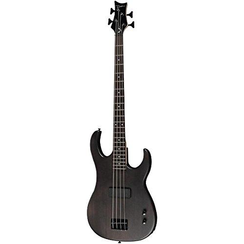 Dean Zone XM Bass Guitar Transparent Black (Black Electric Guitar compare prices)