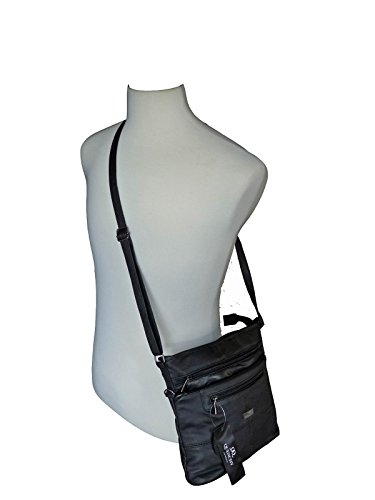 Leather Womens Ladies Handbag Black Soft Leather