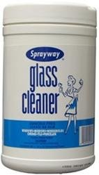 Glass Cleaner Wipes from SPRAYWAY, INC.