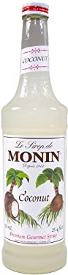 Monin Coconut Syrup 750ml by Monin