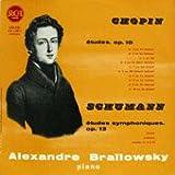 【※CDではありません】練習曲集/ショパン:Op.10(全12曲),Op.25(全12曲),3つの新しい練習曲,シューマン:交響的練習曲Op.13【中古LP】