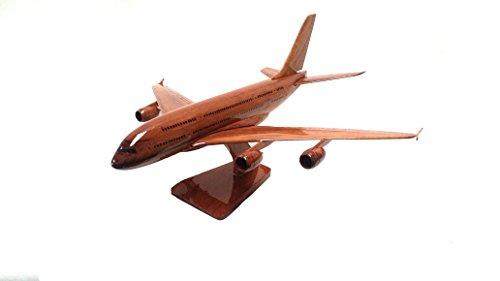 airbus-a380-avion-commercial-transport-avion-civil-executive-bureau-en-bois-modele-acajou