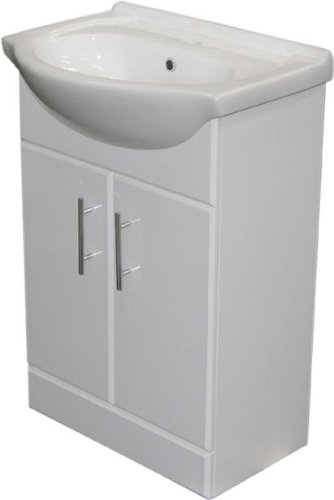 Bathroom Vanity Unit  &  Basin - 550 mm / 55cm