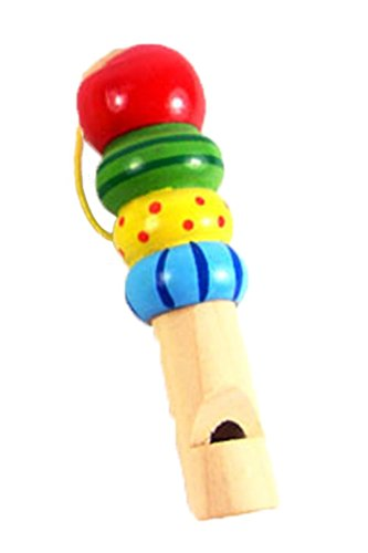 boutique1583 Wooden Children's Whistle Baby Music Early Education Toy
