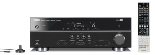 Yamaha HTR-5063BL 630-Watt 7.1 Channel AV Receiver (Each, Black)