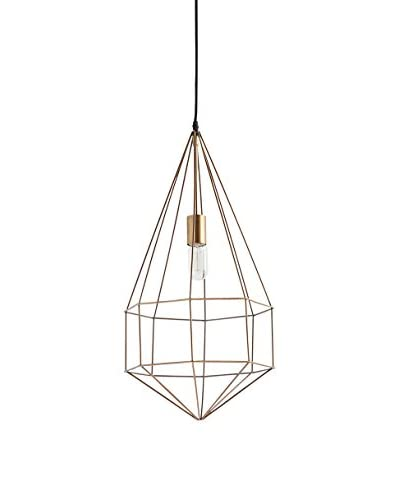 Mercana Ignasa I 1-Light Pendant, Gold