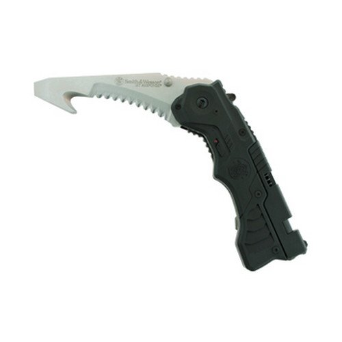 S&W 1St Response Rescue Tool, Seatbelt Cutter - Smith & Wesson Knives