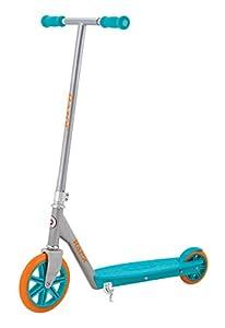 Razor Berry Lux Kick Scooter, Teal/Orange