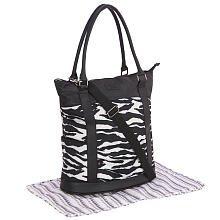 Truly Scrumptious Bucket Diaper Bag - Zebra - 1