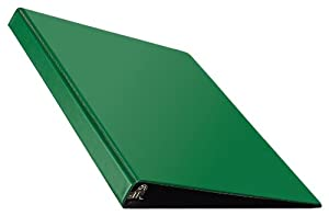 Avery Durable Binder with 0.5 Inch EZ-Turn Ring, Green, 1 Binder (27053)