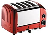Dualit Classic Vario AWS Apple Candy Red 4 Slot Toaster