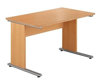 Urban 1180 Wide Desk - Length: 680 MM; Width: 1180 MM; Height: 732 MM; Color: Beech