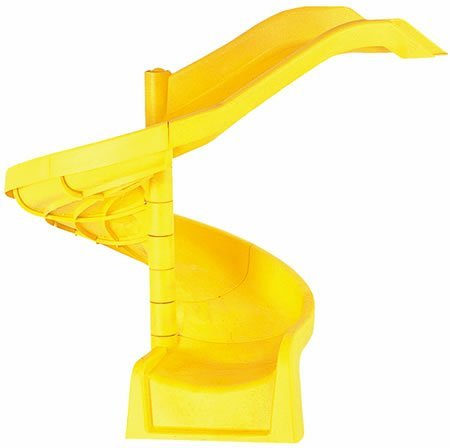 66' Spiral Slide (Yellow)