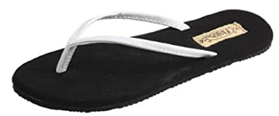FLOJOS Fiesta Womens Sandals, white black 5