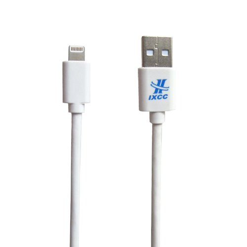 Ixcc ® Apple Certified 10Ft 8 Pin Lightning Cable White Extra Long Usb Sync Cable Charger Cord For Apple Iphone 5 / 5S / 5C / 6 / 6 Plus / Ipod 7 / Ipad Mini / Retina / Ipad 4 / Ipad Air (Compatible With Ios 8) [Mfi Certified]